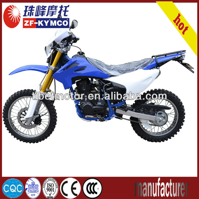 200cc air cooled best selling off road motorcycle sell in russia(ZF250PY)