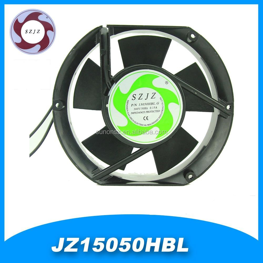 6 inch AC Axial Fan lead wire ac cooling fan made in china