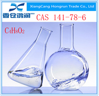 purity 99.5% Industrial Grade Standard Ethyl Acetate for solvent