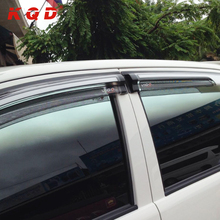 car weather guard pickup double cab accessories 4x4 Window Deflector Weather Guards door visor for 2015 toyota hilux vigo