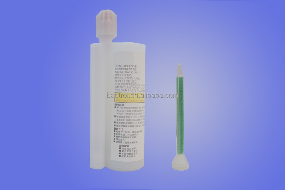Acrylic sheet with self adhesive,quartz stone glue,man made stone glue