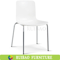 2016 Replica Plastic Ant Dining Chair Plastic Chair with Metal Legs Made in China