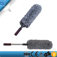 Long Extendable Handle Exterior Or Interior Use Microfiber Multipurpose Duster Car Wash Brush