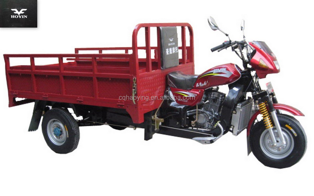 Multipurpose Open 3 Wheel China Cargo Motor Tricycle for sale