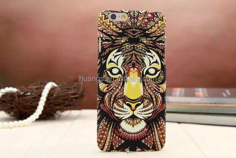 Buy direct from china 3D Animal Shape Print hard pc Case for iphone 6 cell phone case factory price