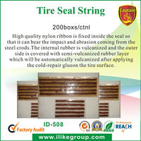 Tubeless tire seal string