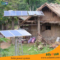 Off-grid solar powered system 1kw 2kw 5kw 10kw 20kw 50kw