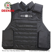 NIJ Level Black Bullet Proof Vest, Balistics Vest for Government Tender
