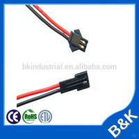 shenzhen market 2pin automotive cable wire harness with certificate