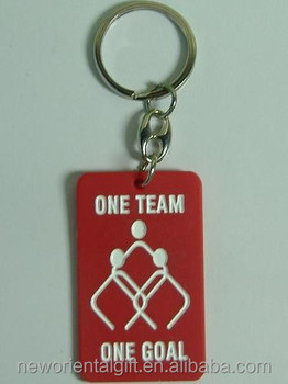 Custom Silicone Keyrings, Custom Shape Silicone Keyrings