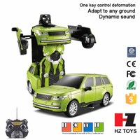 2.4G deformation educational intelligent robot to assemble kit for kids