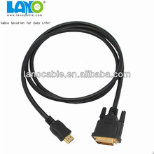 high quality male to male gold plated scart to hdmi cable