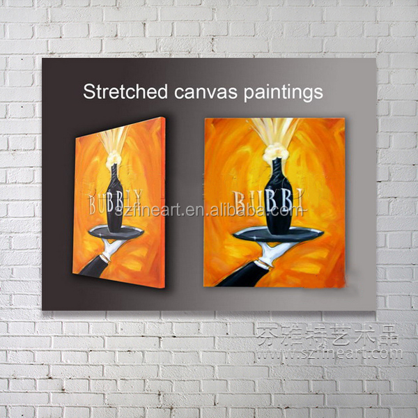 Wholesale canvas stretcher bars oil painting wooden stretcher frame
