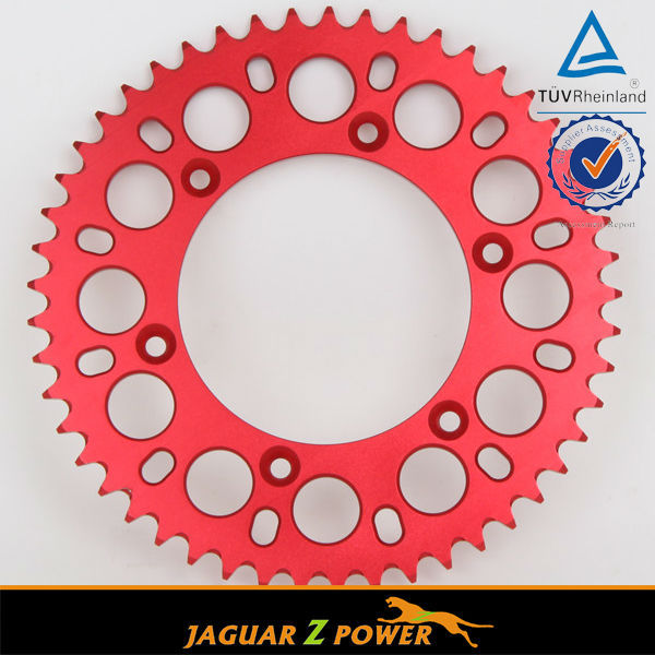 38-55 Teeth High Quality Aluminum alloy motorcycle Sprockets for KTM