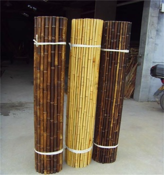 WY T-001 with high quality eco-friendly black bamboo fences