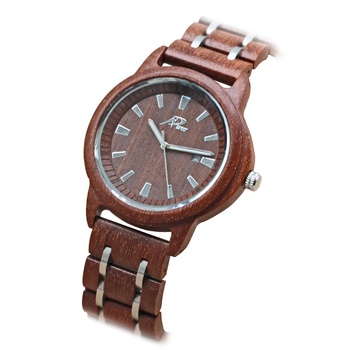 Wholesale cheap custom logo fashion wood watch for men wristwatch with calendar function