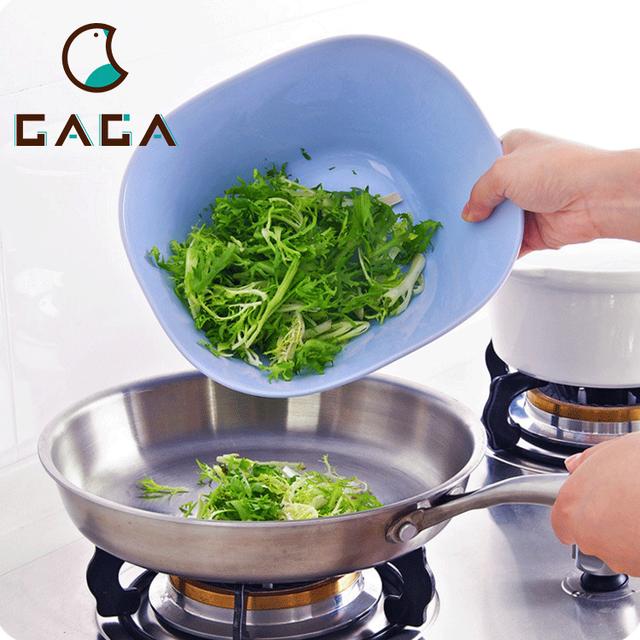Crystal Salad Bowl Plastic Basin For Salad Plastic Fruit Basin