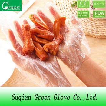 disposable kitchen gloves with powder