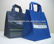 colorful recycled pp laminated non woven shopping bag