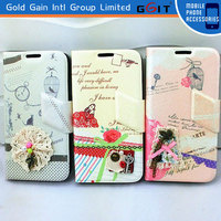 Stylish Fashionable Leather Flip Wallet Case Cover Skin For Samsung S4 i9500