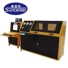 SUNCENTER hydraulic pump test bench for pipes/hose/tube/guage/sensor/valves