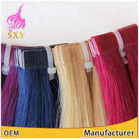Highest Quality Human Hair Skin Weft 8-30inch Indian Remy Tape Hair Extension