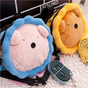 NEW Pet Dog Backpack Leads Plush Lion Sunflowers Portable Bag Dog Carriers Bags