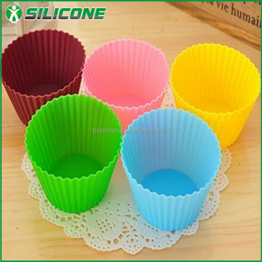 Slica gel new products silicone cake cups/cupcake forms