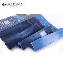 cheapest 100 cotton yarn dyed denim fabric for t-shirt