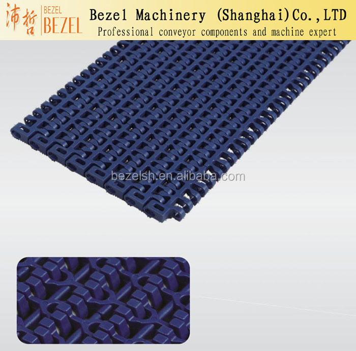 Rough top conveyor belt price modular plastic belt components