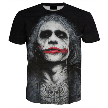Free Shipping 2018 New Design Men 3D Tshirt Print Fashion Casual Funny T-shirts
