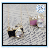 Fashion High Quality Camera Pendant jewelry necklace