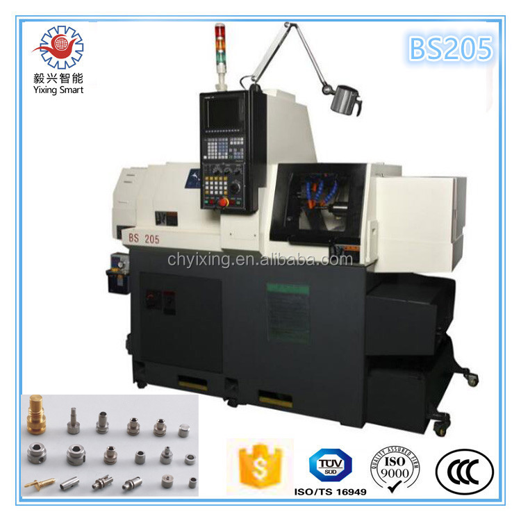 Tsugami type 5-axis BS205 vertical cnc lathe Cnc Lathe Machine Specification