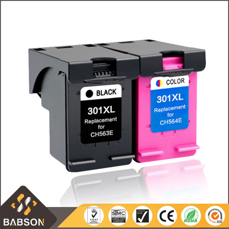 Remanufactured Compatible 301XL ink cartridge for HP DeskJet 1050 2050 Printer