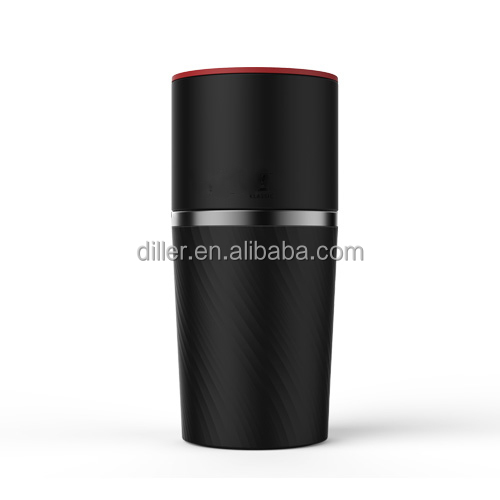 Portable coffee maker with stainless steel tumbler 450ML