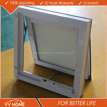 Frosted Glass Bathroom Windows/aluminum awning window