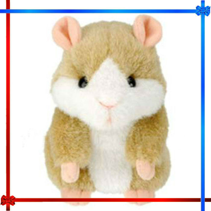 Repeat Talking Toy Electronic Hamster