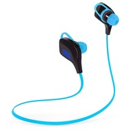 Earbuds Earphones Car Hands-free Calling Headsets with Microphone Earphones Bx200-blue