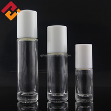 Wholesale 3ml 5ml 10ml clear empty essential oil roll on perfume glass bottle