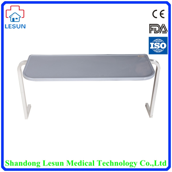 LESUN Medical Hospital Steel Turn-over Bed Table,LSF-C58