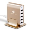 Multi 35.5W 5 USB Portable Phone Charger Portable Mobile Phone Charger Poratble Cell Phone Charger