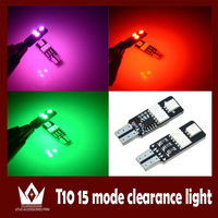 led auto orange lights t10 purple, pink, orange, yellow, blue, green, red, white