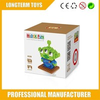 2015 DIY Toy story Nano Alien building blocks toy store,buildingblocks,small building blocks