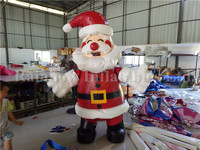 Hot Selling Inflatable Santa Claus,Funny Santa Claus Model Cartoon For Advertising