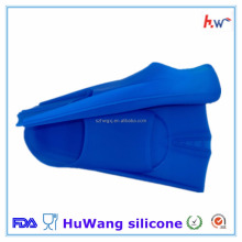 Unisex different size silicone swimming fins