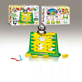 eo-9916852 Kids intelligent toys wall pushing game with a panda