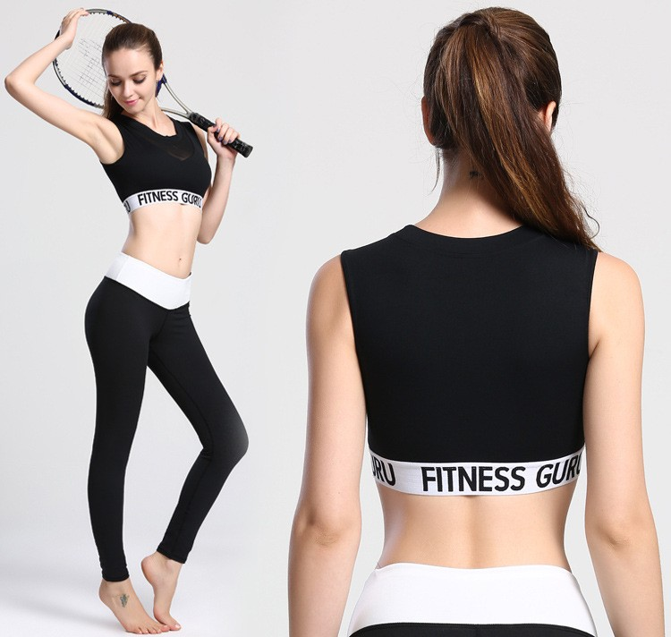 Wholesale Women Seamless Workout Gym Fitness Yoga Sports bra Tops with Yarn