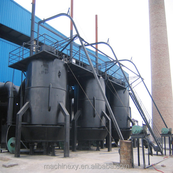Widely used gas generation equipment coal gasifier , coal gas furnace for sale