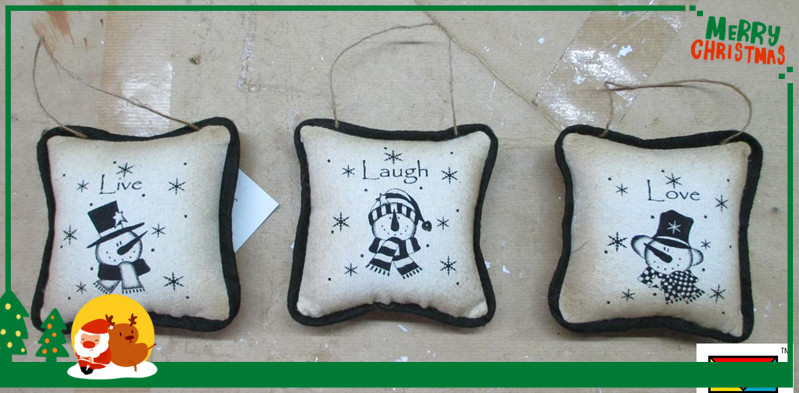 Christmas decoration / christmas small pillow decoration