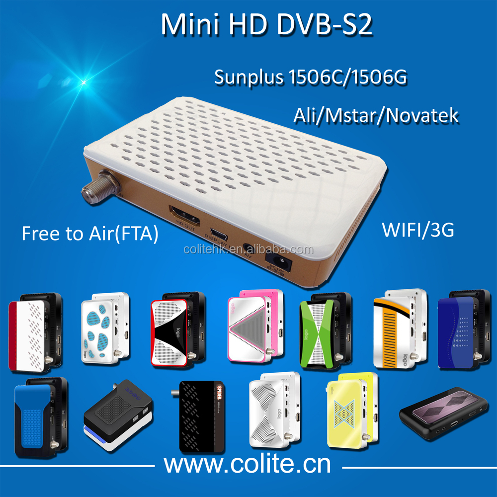 Sunplus 1506G Wifi 3G Mini HD DVB-S2 Set Top Box